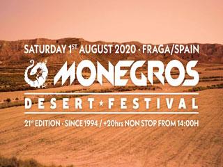 Monegros Desert Festival 2020 - festivalska vstopnica
