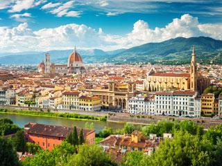 Vikend v Firencah s hitrim vlakom