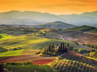 Toskana s Firencami
