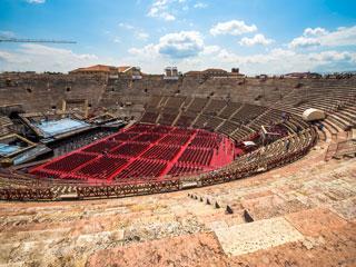 Veronska arena in mojstrovine Guiseppeja Verdija