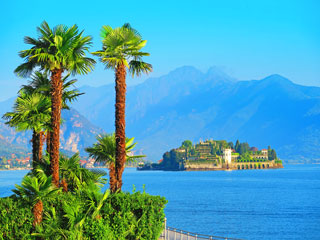 Jezero Maggiore - Borromejski otoki - Milano