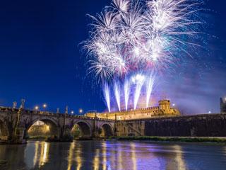 Novoletni Rim z avtobusom - novo leto