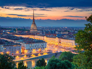 Torino - kraljevo mesto in njegovo zaledje (Ivrea in Alba)