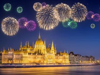 Novoletna Budimpešta in Blatno jezero - novo leto