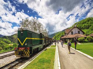 Življenje je čudež - Šarganska osmica, Drvengrad in Narodni park Tara